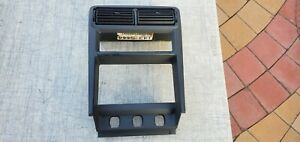 1999 2004 Mustang Center Dash Vents Radio Bezel Trim Black Oem