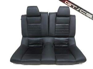 Oem Ford Mustang Gt Cs Coupe Leather Rear Seat Gtcs 2010 2011 2012 2013 2014