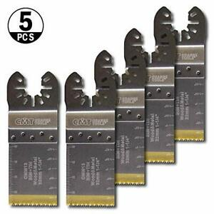 Cmt Omm13 x5 5pcs Plunge Flush cut Blade For Wood Metal Extra Long Life Quic