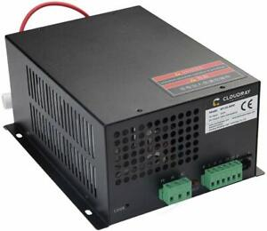 60w Co2 Laser Power Supply Cloudray 110v For Co2 Laser Tubes Myjg 60w