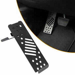 Metal Left Foot Rest Dead Pedal Pegs Panel For 2018 2019 Jeep Wrangler Jl Jlu