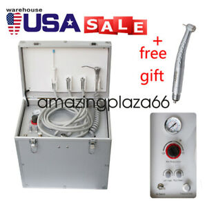 us pro Dental Portable Delivery Unit three Way Syringe suction System gift