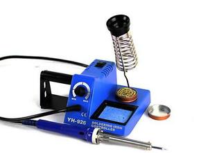 220v 110v Eu us Plug 60w Soldering Iron Station Tip Cleaner Paste Holder Kit