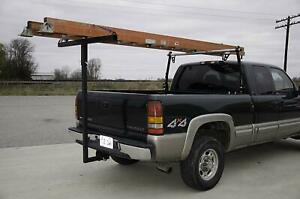 Pick Up Truck Bed Hitch Extender Extension Rack Ladder Kayak Canoe Boat Lumber
