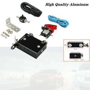 Dual Stage Electronic Turbo Boost Controller Psi Aluminum Turbocharger W Switch