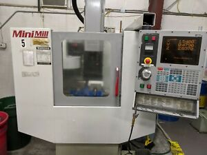 Used Haas Mini Mill Cnc Vertical Machining Center Mill W Tooling 4th Ready 2000