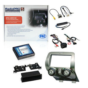 Pac Rpk5 gm4102 Integrated Radio Replacement Installation Kit For Camaro