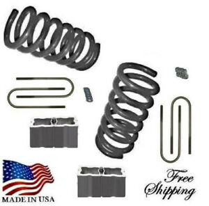 1982 2004 S10 Sonoma Blazer Jimmy S15 3 4 Lowering Kit Springs Blo