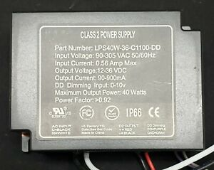 Led Power Supply Driver 40w Dimmable Driver New Lps40w 36 c1100 dd