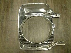 1965 Plymouth B Body R h headlight Bezel Satellite Belvedere