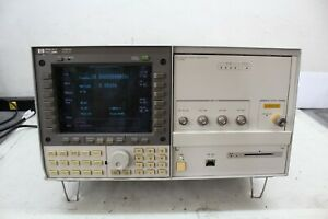 Hp 70340a Signal Generator And Hp 7000a Display 1 20 Ghz Call d With Cert Opt 1