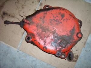 Vintage Ji Case 630 Gas Row Crop Tractor lh Brake Cover As Is 1959