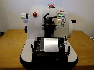Leica Rm 2155 Rotary Automated Microtome With Controller 0 5 60 m