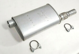 Fits 2004 2005 2006 Chrysler Pacifica 3 5l Middle Muffler Assembly Direct Fit