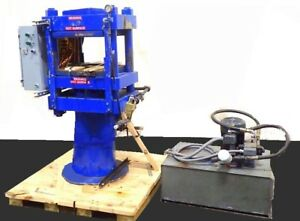 100 Ton 4 Post Hydraulic Molding Press W Pump