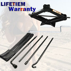 Repair Spare Tire Tool For Ford 2004 2014 F150 And Scissor Jack Black Steel 2ton