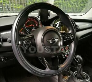 Deluxe 3x Steering Wheel Covers Gloss Black For Mini Cooper F54 F55 F56 F57