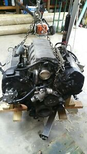 2005 Bmw N62 Engine And 6sp Manual Transmission