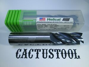 New Helical Solid Carbide 3 4 End Mill 4 Flute Aplus Coated Milling Tool Bit