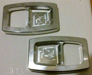 87 93 Ford Mustang Gt Lx Billet Door Handle Bezels 88 89 90 91 92 93 Cobra