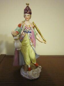 Sitzendorf Porcelain Figurine Asia From 4 Continents Set