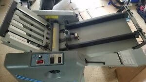 Baumfolder Ultrafold Xlt 714 Xlt Paper Folder With Vacuum Feed And Stand