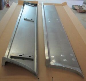 New 1950 2 Wider Chevy Gmc Truck 1 2 Ton Smooth Steel 16g Running Boards