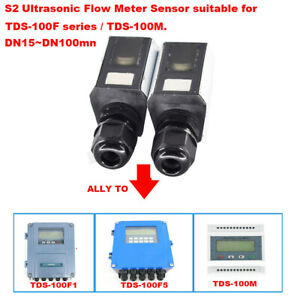 Ultrasonic Flow Meter S2 Clamp On Transducer Sensor For Tds 100f Series Tds 100m