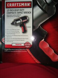 Nib Craftsman 1 2 Heavy Duty Composite Impact Wrench 919984