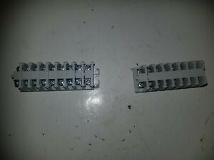 Lot Of 17 Buchanan Tyco Electronics Terminal Block