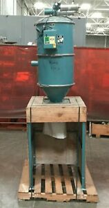 Una dyn 20 Dust Collector Floor Filter 91180 On Stand 3 7 8 Inlet outlet