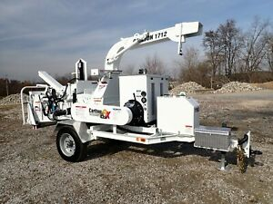 New 2019 Carlton 1712 Apache Towable 12 Wood Chipper 74hp Diesel Auto Feed