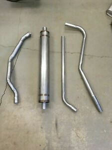 1953 1954 Pontiac 8 Cylinder Complete Single Exhaust System