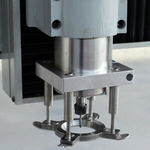 Pressure Plate Woodworking Engraving Machine Spindle Automatic Plate 65mm Cnc Co