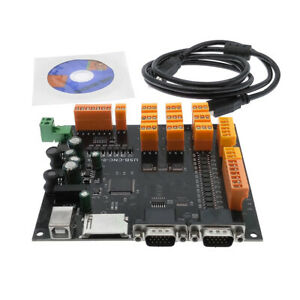 Driver Board Usb Cnc 9 Axis Stepper Motor Controller Breakout Board With S6d6