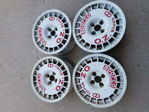 Vintage Sparco Oz Rally Wheel Set 4 4 X 98 7j X 15 H2 Lancia Delta Integrale
