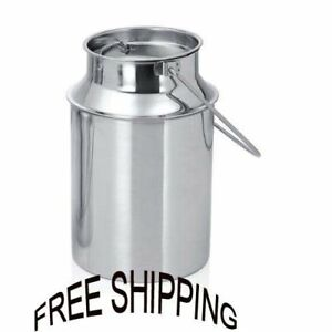 Milk Can 5 Liter Can Capacity High Quality Stainless Material Can Durable Item
