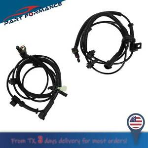 Front Left And Right Abs Wheel Speed Sensor Fit 2002 2007 Jeep Liberty