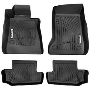 Oedro Floor Mats Liners Fit For 2016 2021 Chevrolet Camaro Unique Tpe F R