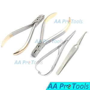 Orthodontic Wire Cutter Distal End Tc Pliers Matheiu Needle Holder Tweezers