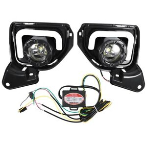 Car Fog Lamp Drl Daytime Running Light For Toyota Hiace 2014 2018 With Turn F8x2