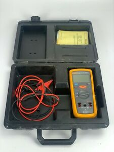 Fluke 1503 High Voltage Insulation Tester With Hard Carry Case