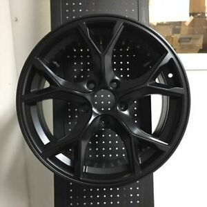 18 Type R Style Satin Black Rims Wheels Fits Honda Civic Si New