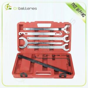 New For Mercedes benz Bmw Fan Clutch Service Holder Wrench Tool Set