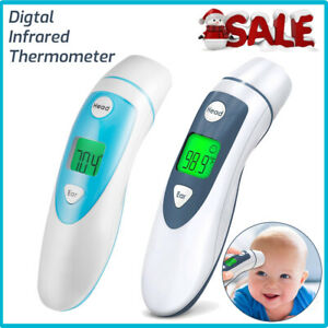 Digital Infrared Thermometer Non contact Body Temperature Gun For Baby Adult Wf
