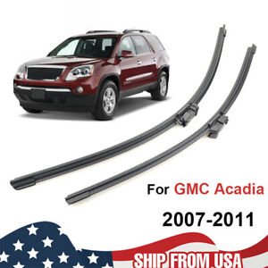 24 21 Front Window Windshield Wiper Blades Set Fit For Gmc Acadia 2007 2011 10