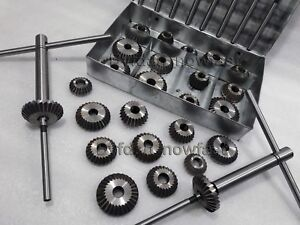 33x High Carbon Steel Valve Seat Cutter Kit Big Small Block Heads Economical