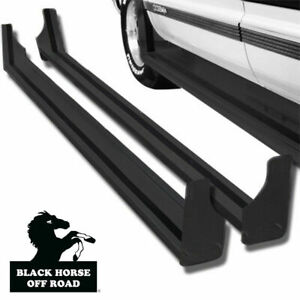 Black Horse Commercial Running Boards Fits 97 14 Chevrolet Express 1500 Run102a