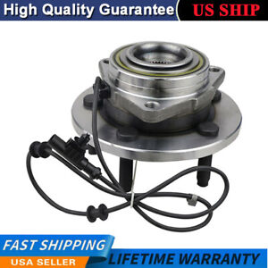 Front 513207 Wheel Bearing And Hub Assembly Fits 2004 2005 Dodge Durango