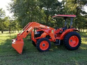 Kubota M5660 4x4 Loader Tractor Free Delivery
